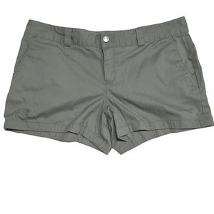 Under Armour Green Heat Gear Chino Athletic Shorts